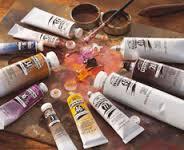 tubetti colori a olio